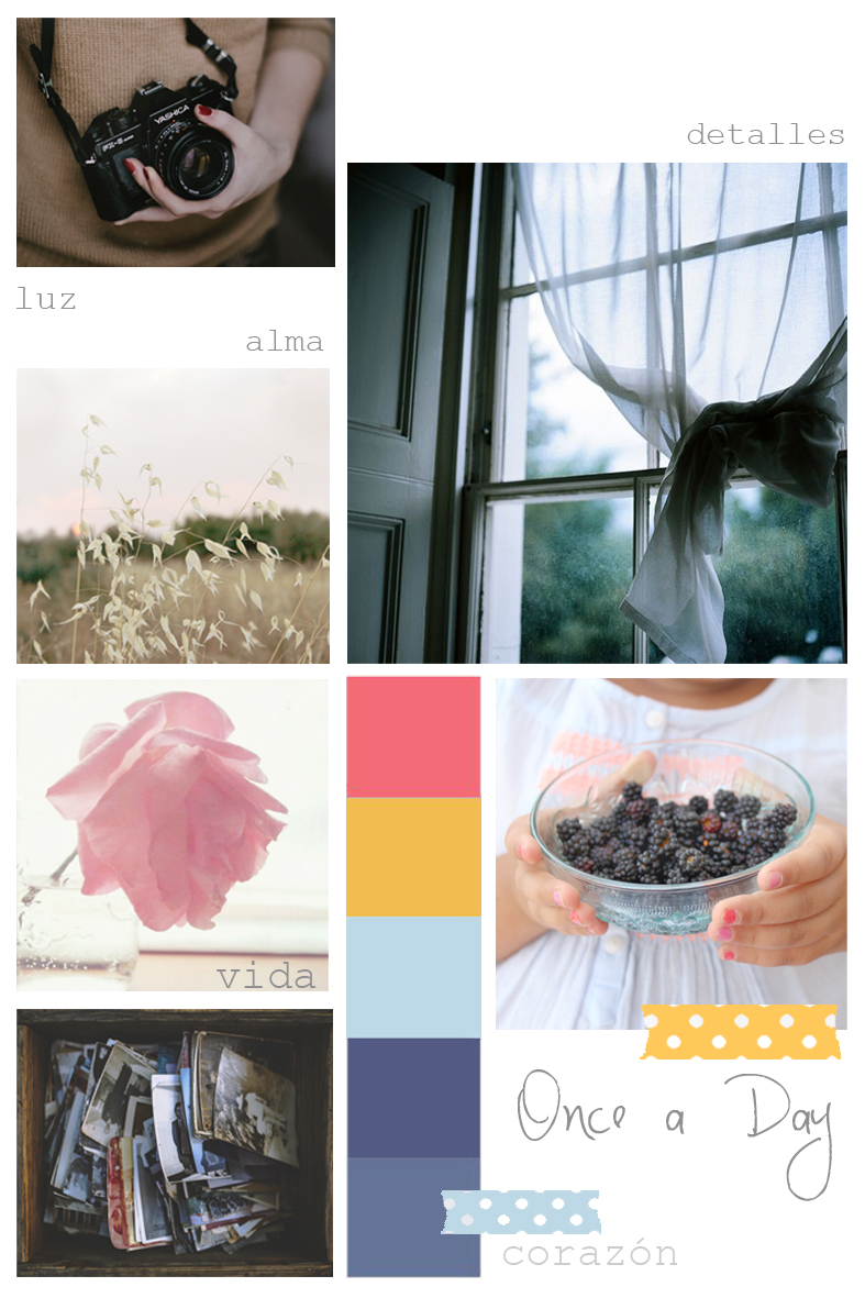 Once a Day Moodboard para HC