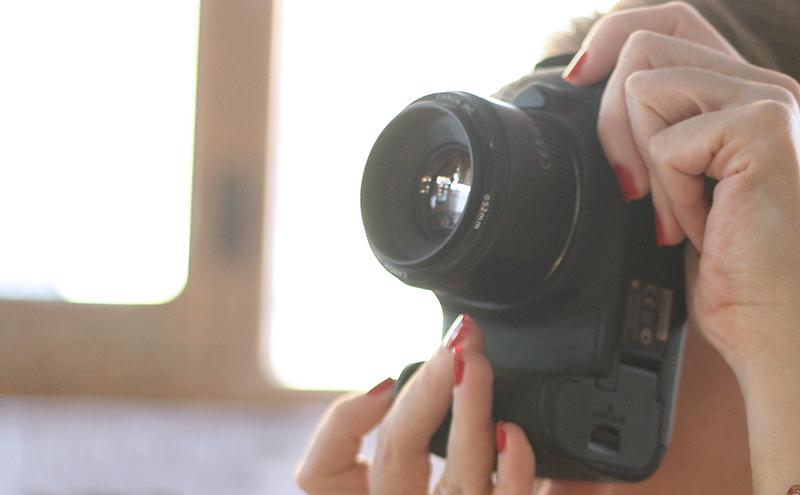 fotógrafa - mochilas para mi equipo