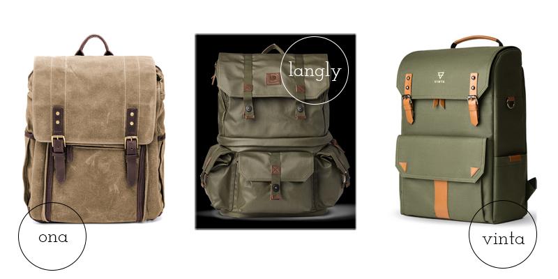mochilas para mi equipo fotográfico - once a day