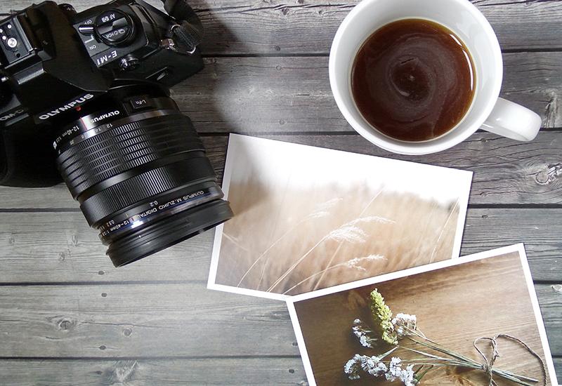 pasarse a una mirrorless - cámara - café - postales - Once a Day blog