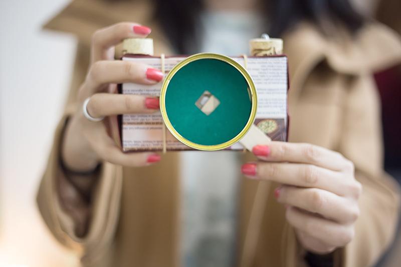 taller de fotografía reciclada con Ecocam